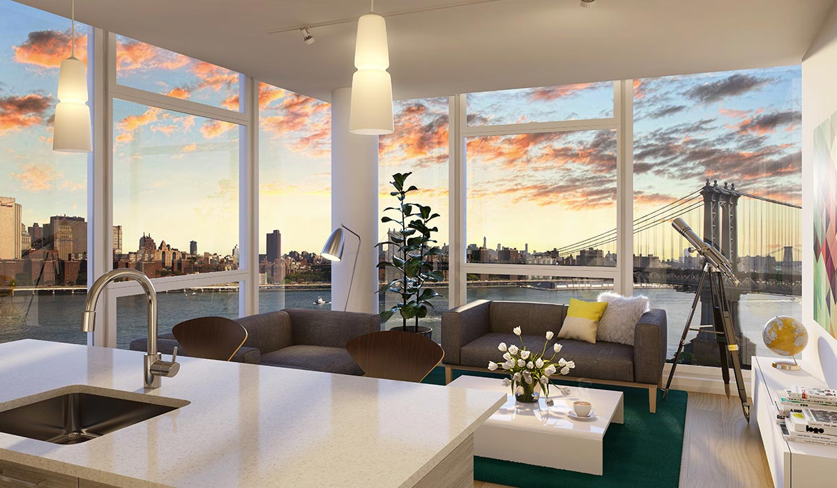 60 water street luxury apartments for rent in dumbo for Beautiful apartments in nyc
